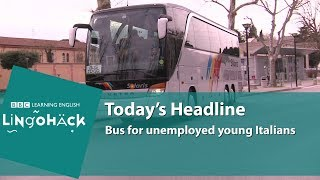 Learn words from the news: jobseeker, contract, short-term, candidates, the competition