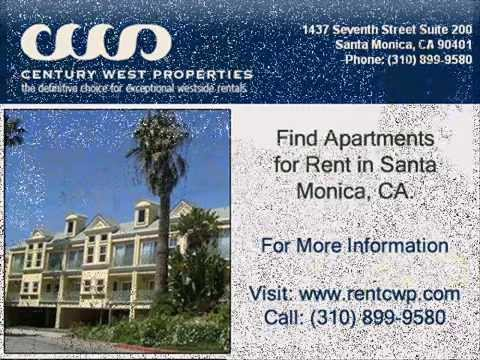 Rent apartment in Santa Monica, CA - www.rentcwp.com