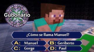 ¿Quién quiere ser Cubonario? | Minecraft
