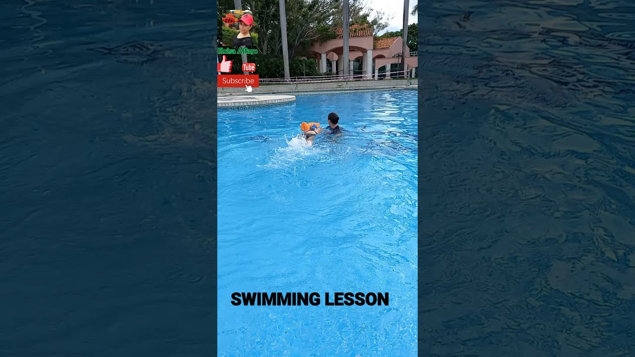 SWIMMING LESSON| Eloisa Alfaro #shorts #swimming #summer