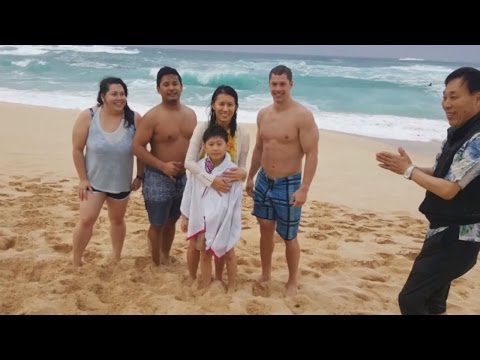Watch Stranger Rescue 8-Year-Old Boy Caught In Hawaiian Surf