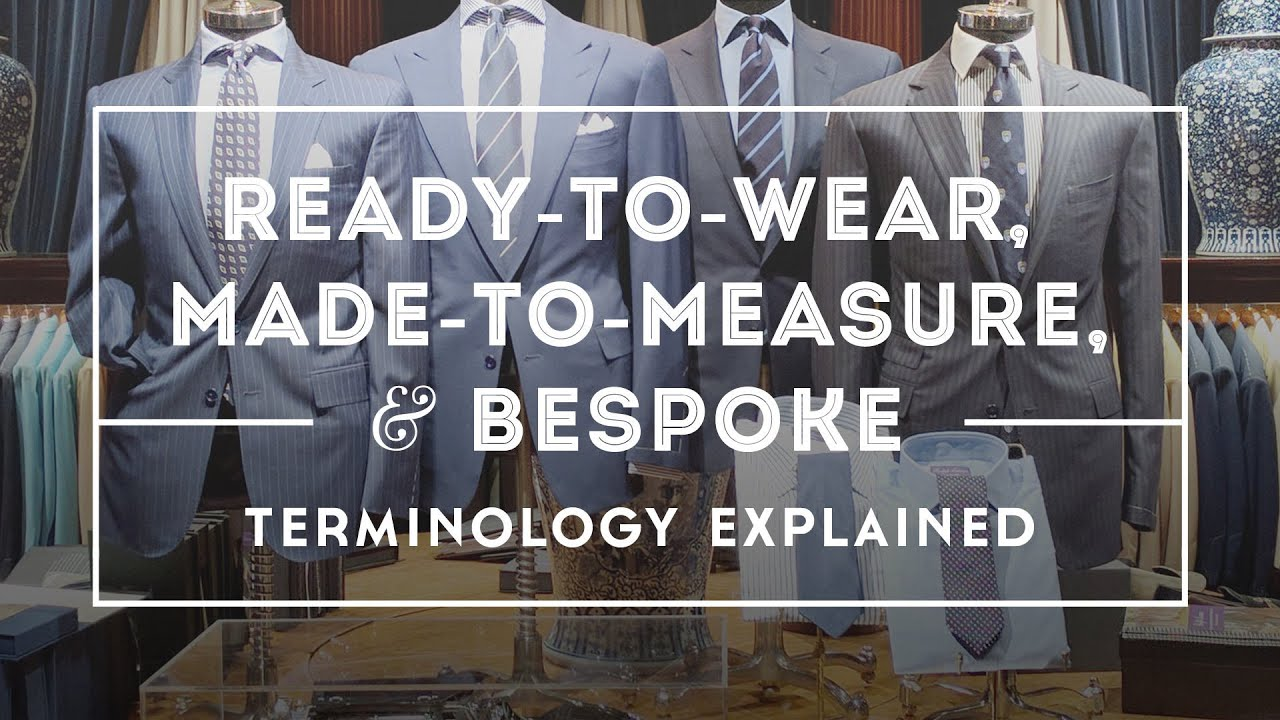 fashion best value los angeles Bespoke vs Made To Measure & Ready To Wear - Suits, Shirts, Shoes Explained