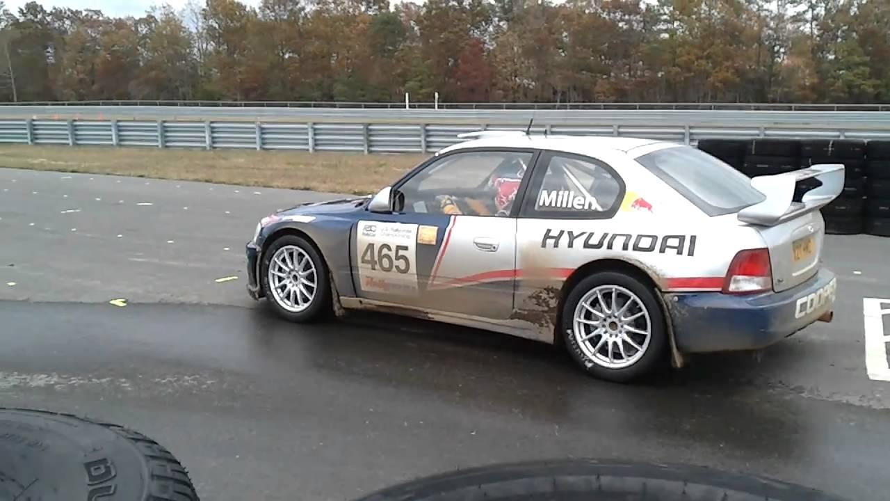 Hyundai Accent Wrc Rallycross Rhys Millen Youtube