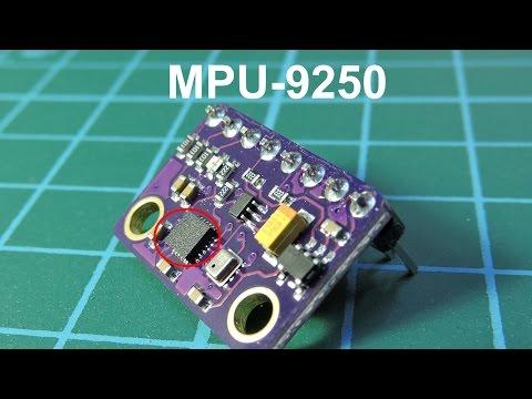 MPU-9250 Гироскоп+Акселерометр+Магнитометр - YouTube