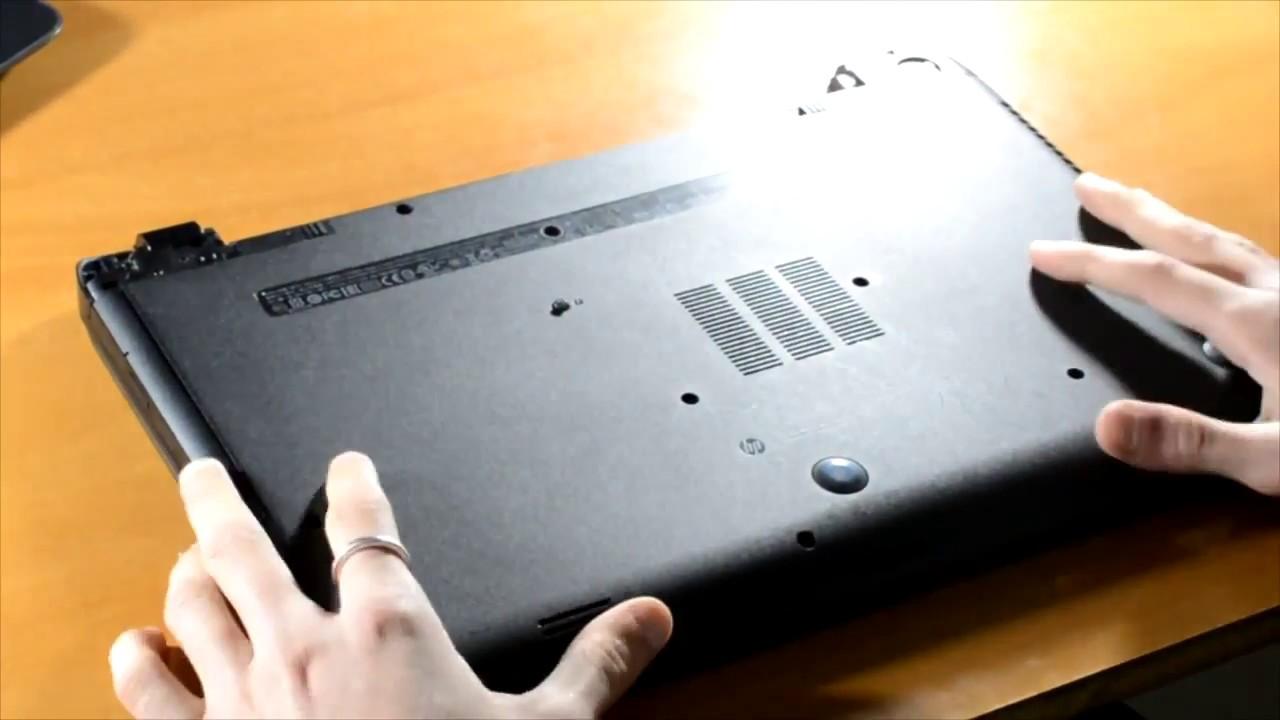 b7f79769e20 Αλλαγή σκληρού δίσκου σε laptop (HP 250 G2)