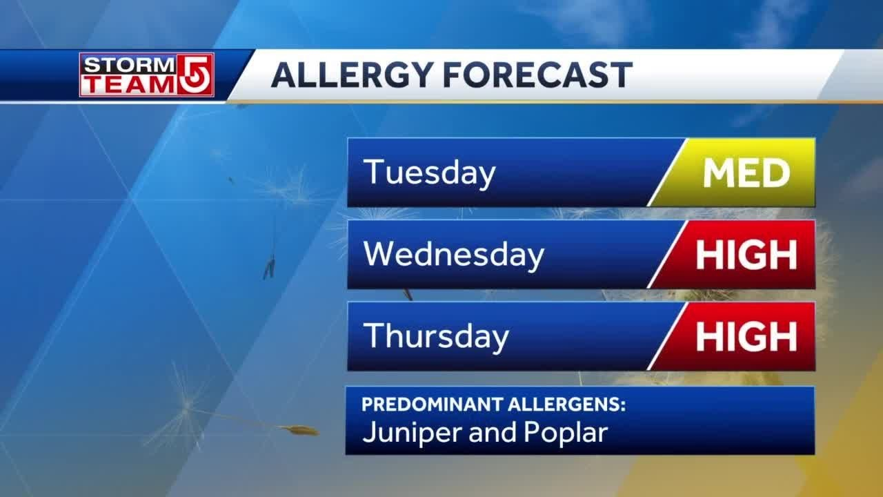 Achoo!  Spring allergies are on the rise – WCVB Channel 5 Boston
