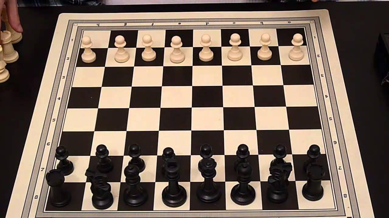 Como jugar al ajedrez en espa ol 1 el tablero y como - Como se pone el parquet ...