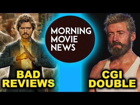 Iron Fist Netflix Bad Reviews, Logan 2017 CGI Stunt Doubles & Digital Actors