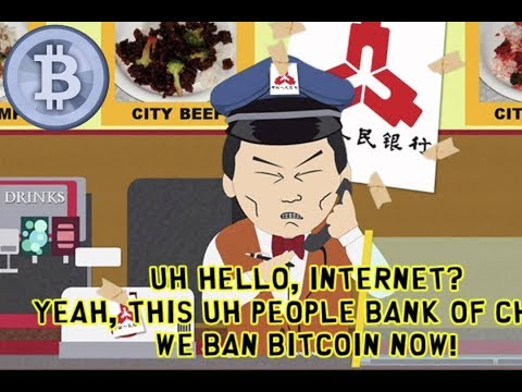 China Bans Bitcoin -- This Time It's Different™
