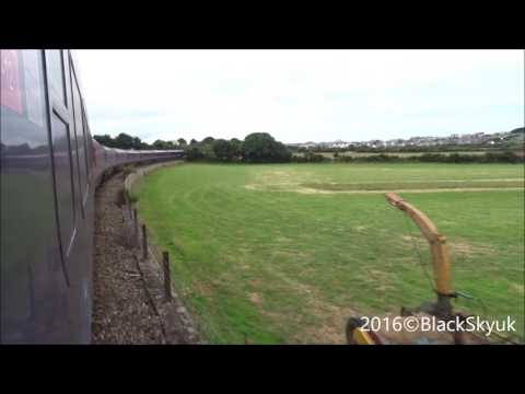 HST GWR from Quintrell Downs To Newquay
