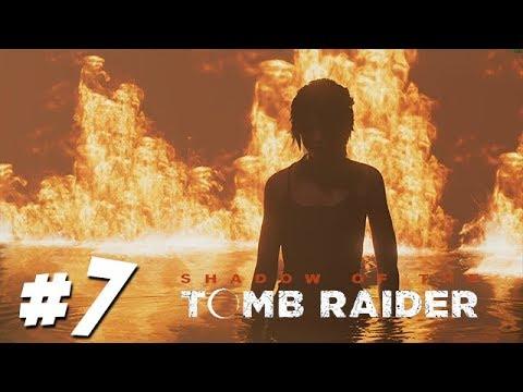เจอคนคลั่งล่าสั่งตาย - Shadow Of The Tomb Raider - Part 7