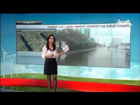أمطار على لبنان و انحسار الرطوبة في شرق السعودية
