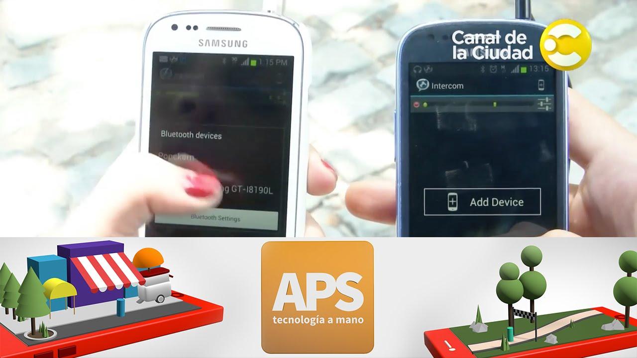163cfe3208a Intercom, hablá gratis por Bluetooth o Wifi - APS, tecnología a mano ...