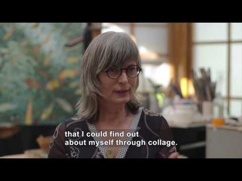 On the Cutting Edge: Collage Artist Mary Lou Zelazny (Accessible Preview)