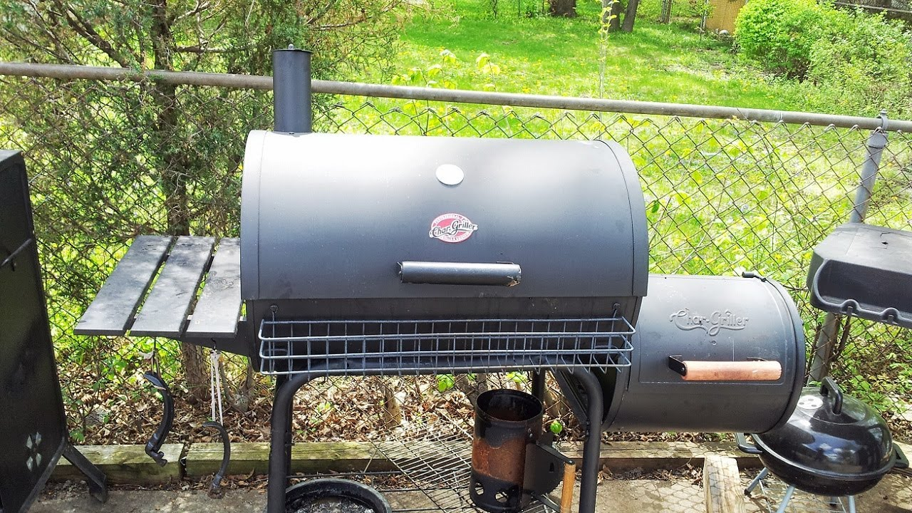 Char griller professional grill and smoker - Char Griller Professional Grill And Smoker 13