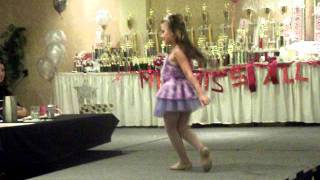 Aaisha Dancing at the Miss All Canadian Pageant Grand Finals