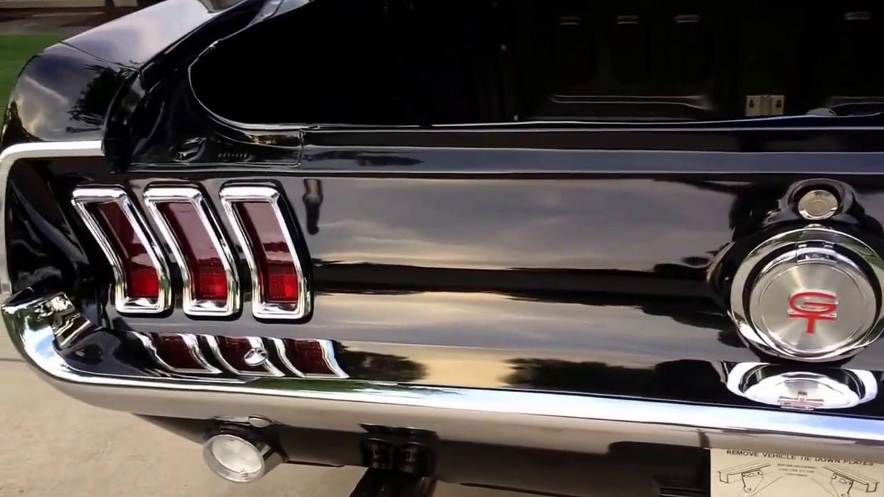 1967 Ford Mustang GT Fastback - Frame off Restoration - for sale at ...