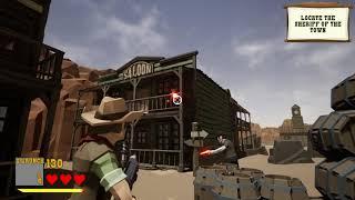 Wild Guns Reloaded Design Test Gameplay