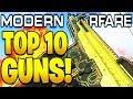 TOP 10 BEST GUNS IN MODERN WARFARE 1.08 PATCH! COD MODERN WARFARE BEST WEAPONS IN COD MW MULTIPLAYER