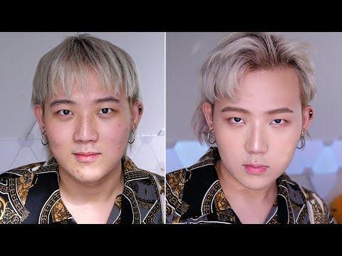 Doing Jinho Bae's Makeup - Edward Avila