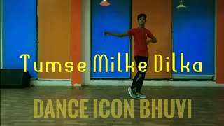 Tumse Milke Dil Ka Dance Choreography || Main Hoon Na || Dance Icon Bhuvi || Bollywood Hiphop ||