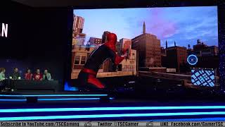 Spider-Man E3 2018 PS4 Press Conference and Gameplay