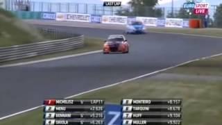Michelisz Norbi győzelme a Hungaroringen - Michelisz wins at Hungaroring (Highlights video)