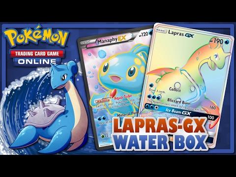 ➤ Pokemon TCG - STANDARD - Lapras-GX Water Box - SUMO