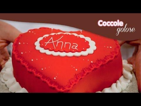Torta di san valentino decorazione tutorial di coccole - Decorazione san valentino ...