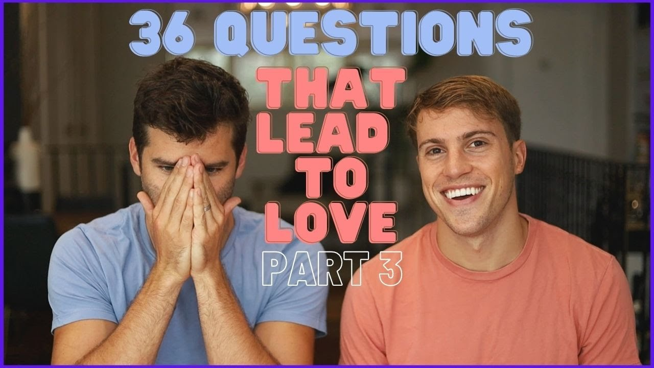 36 questions that lead to love (PART 3) |Taylor and Jeff