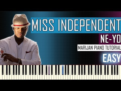 How To Play: Ne-Yo - Miss Independent | Piano Tutorial EASY
