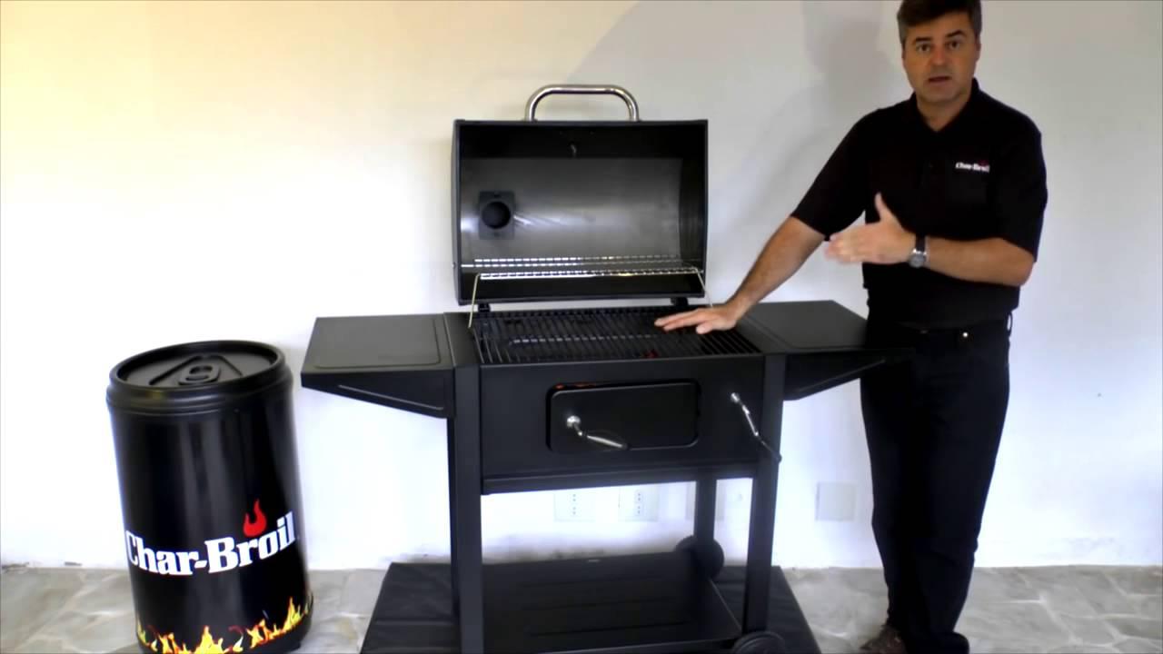cea07417783 Churrasqueira a Carvão Char Broil Dakota - YouTube