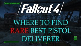 fallout 4 rare best pistol the deliverer get into freedom trails fallout 4 guides