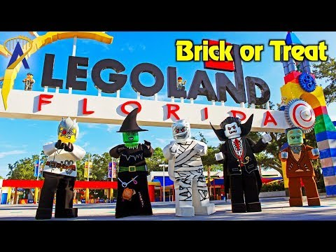 Halloween event built for kids during Brick or Treat at Legoland Florida Resort