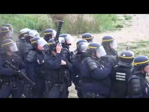 CRS à Calais/France - 2 octobre 2016
