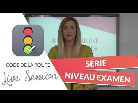 Code de la Route : Série niveau examen en LIVE (16 novembre 2017)