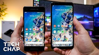 What's going on with the Google Pixel 2 & Pixel 2 XL screens? With ...
