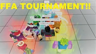 FFA TOURNAMENT!! | Roblox: Dragon Ball Z Final Stand