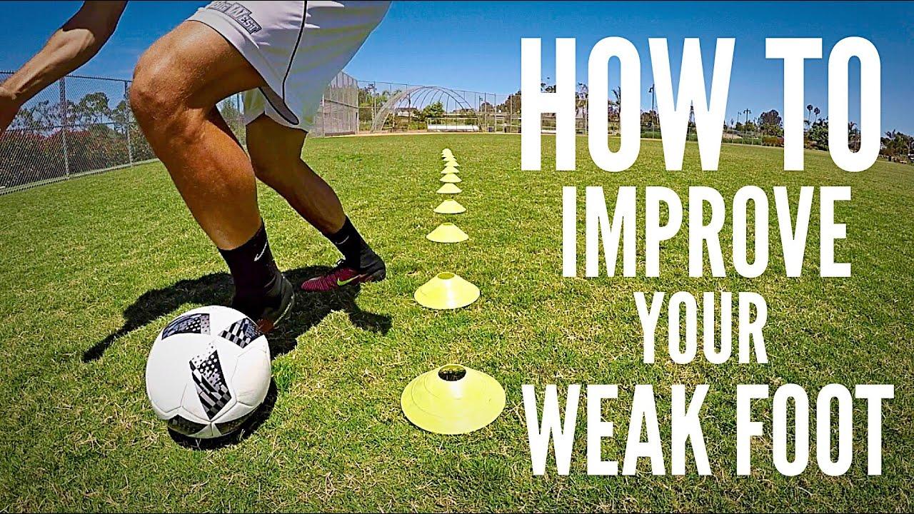 Best Drills to Improve your Weak Foot