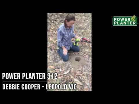 Debbie Cooper testimonial for Power Planter 312