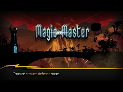 Magic Master - Free-to-play tower defense. Use strategy to survive and create magic combos.