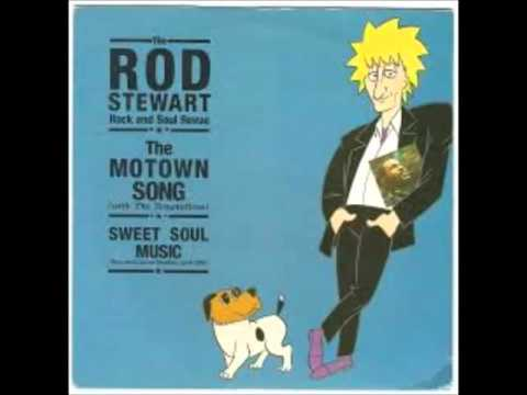 Rod Stewart And The Temptations The Motown Song Rare Promo Version (single Remix)