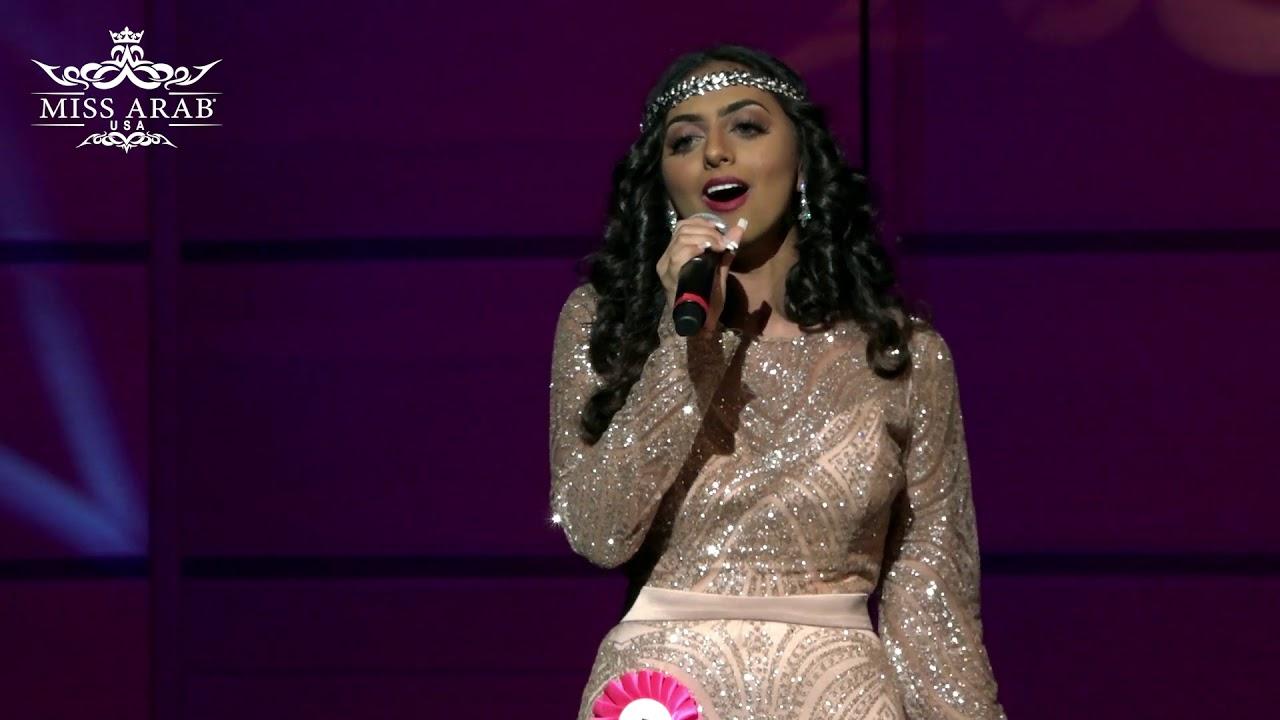 Miss Arab 2019 talent winner بسمة العتيبي من السعودية تفوز بلقب المواهب