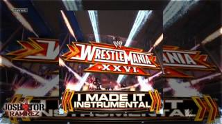 WWE: I Made It (WrestleMania 26 Instrumental Theme) by Kevin Rudolf - DL w. Custom Cover