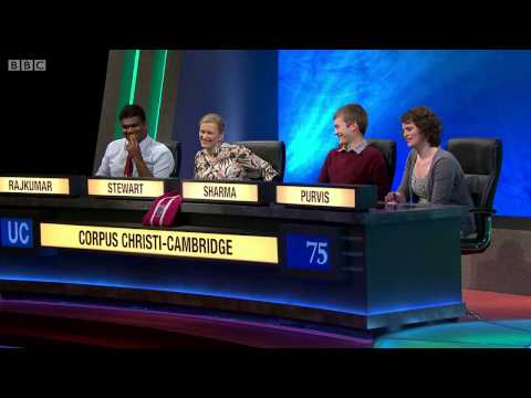 University Challenge S44E13 Corpus Christi - Cambridge vs York