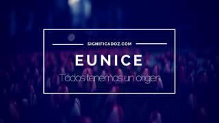 EUNICE - Significado del Nombre Eunice ♥
