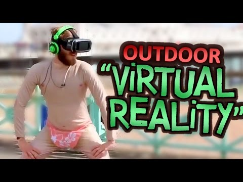 VIRTUAL REALITY IN PUBLIC!