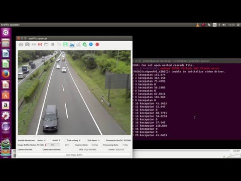 rtsp streaming vehicle counter and classification - YouTube