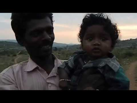 Maddurappa, a kid from Muthur - a tribal village without electricity