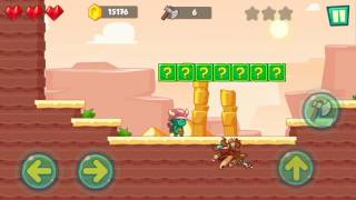 Jungle Adventures: Super World - Sahara Level 2... Gameplay (Free Game On Android)